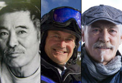 Akio Shinya, Charlie Locke &  Reto Gurtner