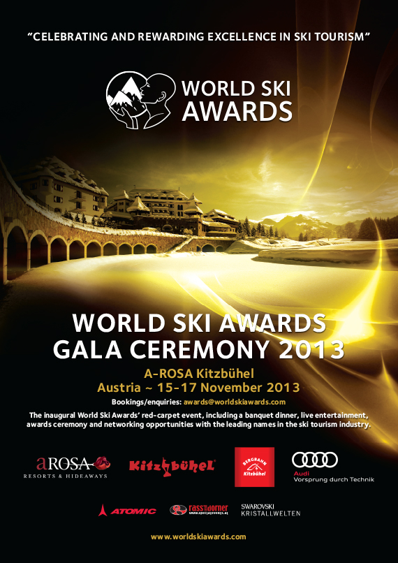 World Ski Awards Gala Ceremony 2013