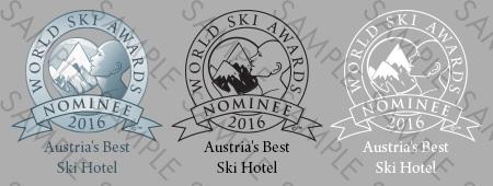 World Ski Awards Nominee Shield