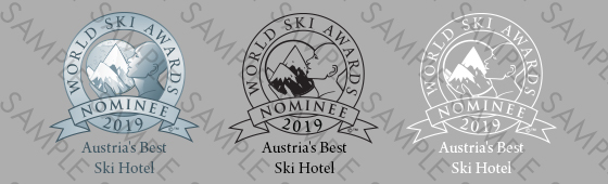 World Ski Awards Nominee Shield